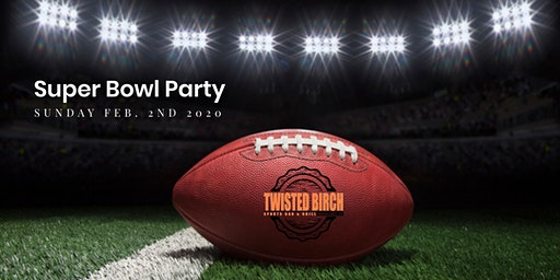 Twisted Birch Super Bowl Party