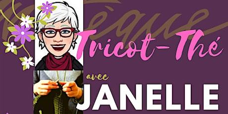 Tricot-Thé avec Janelle billets