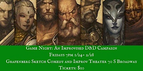 Game Night: An Improvised D&D Campaign tickets