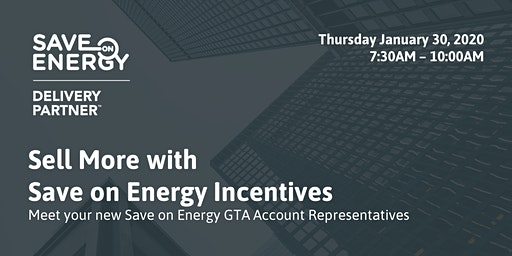 Sell More with Save on Energy Incentives