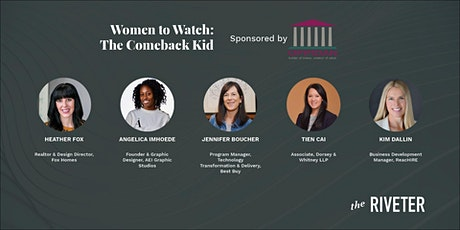 Women to Watch: The Comeback Kid | Sponsored by Oppidan tickets