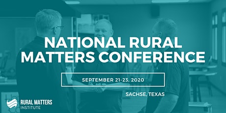 National Rural Matters Conference tickets