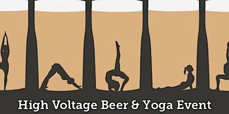 High Voltage Beer & Yoga Event tickets