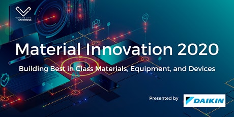 Material Innovation 2020- Conference on Design, Equipment, and Equipment tickets