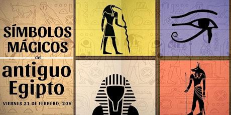 Conferencia: Símbolos mágicos del antiguo Egipto. entradas