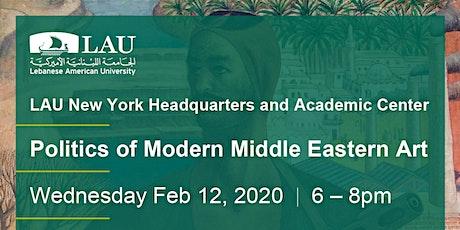 Politicsof Modern Middle Eastern Art tickets