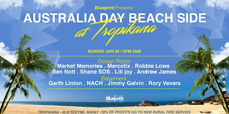 Blueprint Presents _ Australia Day -Beach side- Manly tickets