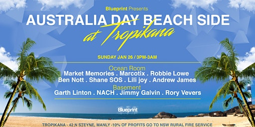 Blueprint Presents _ Australia Day -Beach side- Manly