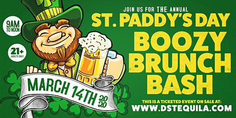 St. Paddy's Day Boozy Brunch Bash 2020 tickets