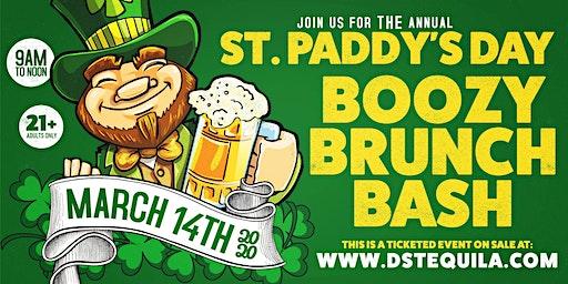St. Paddy's Day Boozy Brunch Bash 2020