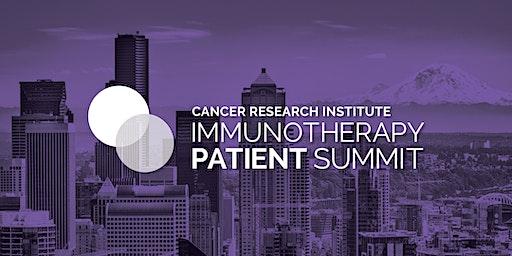 CRI Immunotherapy Patient Summit - Seattle