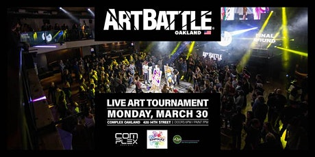 Art Battle Oakland - March 30, 2020 tickets