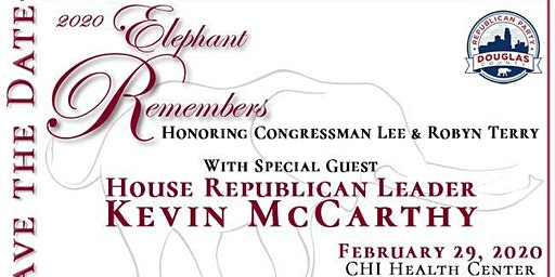 2020 Elephant Remembers with Republican Leader Kevin McCarthy