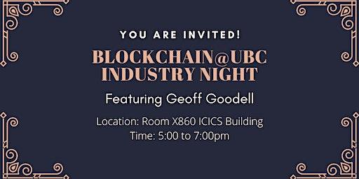 Blockchain@UBC Industry Night