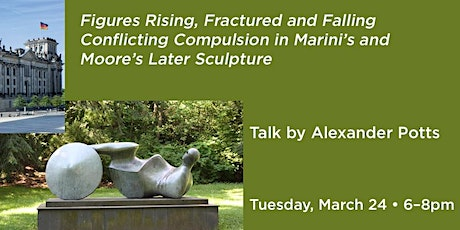 Figures Rising, Fractured and Falling. Conflicting compulsions in Marini's and Moore's later sculpture tickets