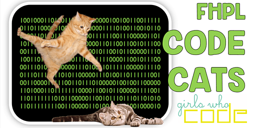 Code Cats! Girls Who Code at FHPL