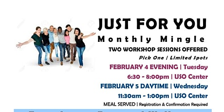 JUST FOR YOU | February 5 | NOON HOUR Fort Riley tickets