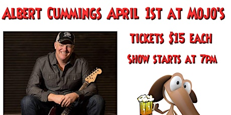 Albert Cummings at Mojo's in Evansville Indiana tickets