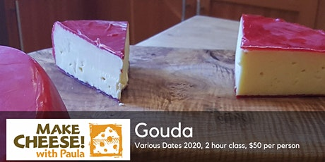 Make Your Own Gouda tickets