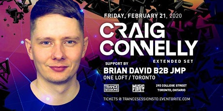 Trance Sessions Pres Craig Connelly - Extended Set tickets
