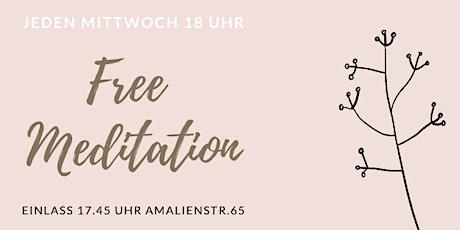 Free Meditation München - Jeden Mittwoch kostenlos meditieren Tickets