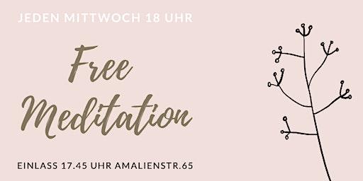 Free Meditation München - Jeden Mittwoch kostenlos meditieren
