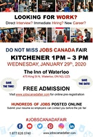 Kitchener Job Fair - January 29th, 2020