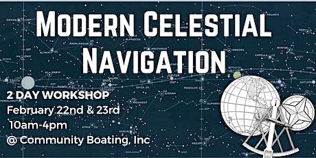 Modern Celestial Navigation tickets