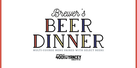 Brewer's Beer Dinner tickets