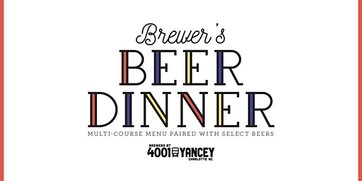 Brewer's Beer Dinner