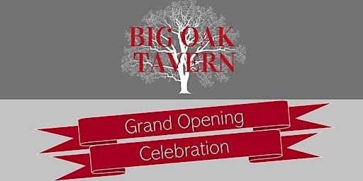 Big Oak Tavern Grand Opening VIP Reception