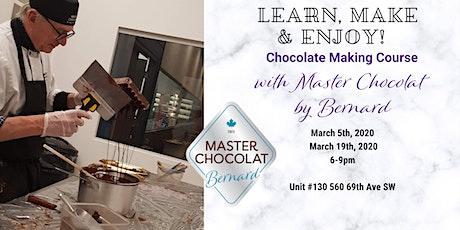 Signature Chocolate Making Course with Bernard Callebaut! tickets