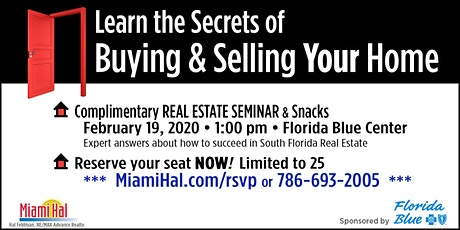 Learn the Secrets of Buying and Selling Your Home tickets