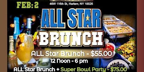 MIST Harlem ALL STAR BRUNCH & SUPER BOWL PARTY LIV⭐️ tickets