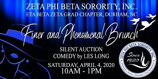 Zeta Phi Beta Sorority, Inc - Finer and Phenomenal Brunch