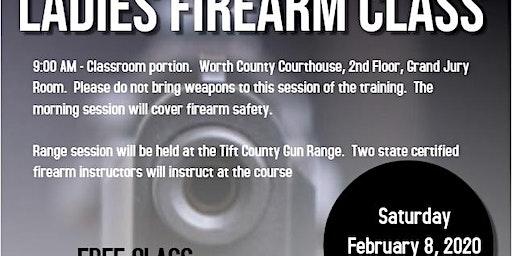 Ladies Firearm Class