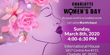 2020 Charlotte International Women's Day - Each For Equal tickets