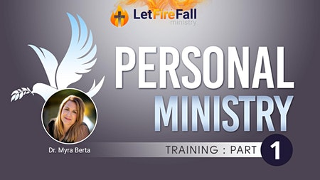 Personal Ministry Training   Part 1