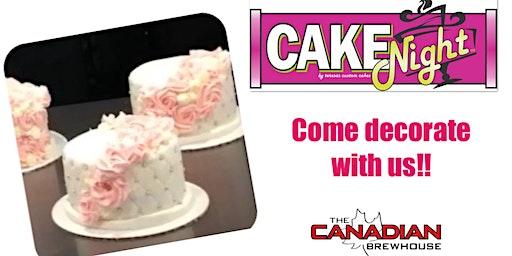CakeNight-Harvest Hills Calgary-Quilted Rosette cake
