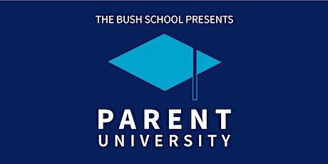 Parent University 2020 tickets