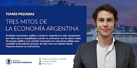 Tres mitos de la economía argentina entradas