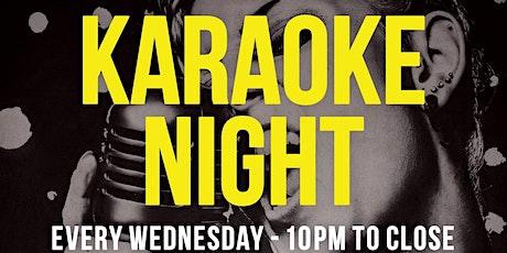 Karaoke Wednesdays At Hideout tickets