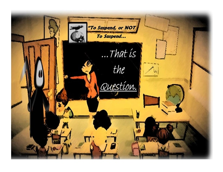 """""""To Suspend,  or NOT To Suspend... That is the Question"""" image"""