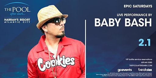 Baby Bash   Epic Saturdays at The Pool After Dark REDUCED Guestlist