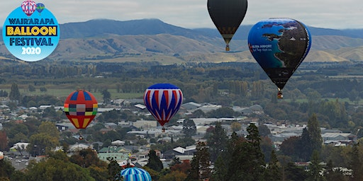 "Wairarapa Balloon Festival's ""First Flight"" - Masterton"