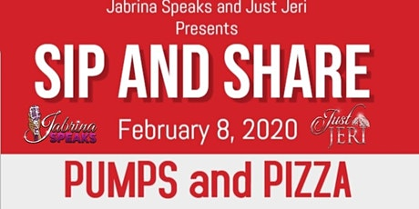 """SIP & SHARE """"PUMPS and Pizza"""" tickets"""