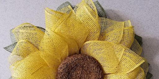 Wreath Workshop - Sunflower