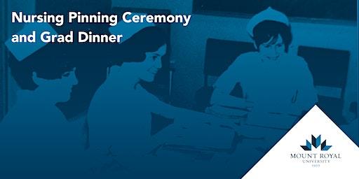 2020 Nursing Pinning Ceremony and Grad Dinner