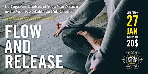 Yoga avec Valérie St-Aubin, Flow and Release