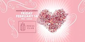 VALENTINE'S DANCE PARTY @ PRESS CLUB